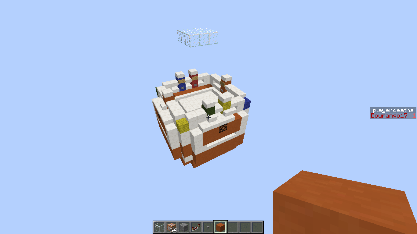 Minecraft Pvp Map: One in the Chamber