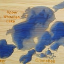 Carved Lake Map