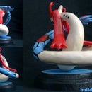 How To Make Milotic Out of Polymer Clay