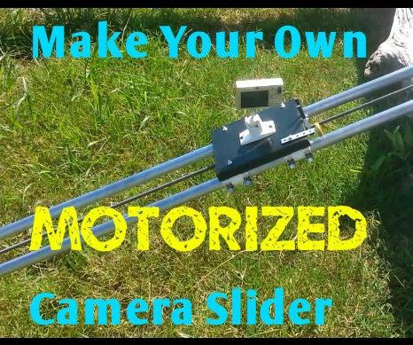 DIY Linear Driven Camera Slider