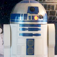 Unbelievable Cardboard R2D2