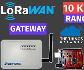 LoRa WAN Tutorial | Dragino Gateway Setup With TheThingsNetwork