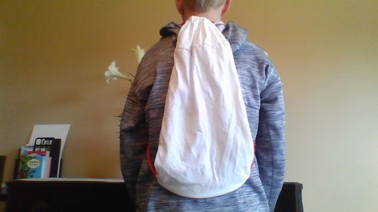 Drawstring Bag From Old Tee