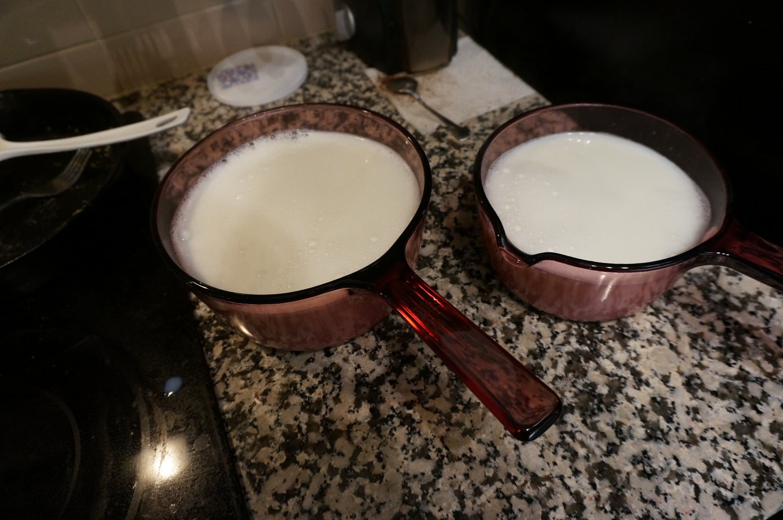 Sterilizing the Milk