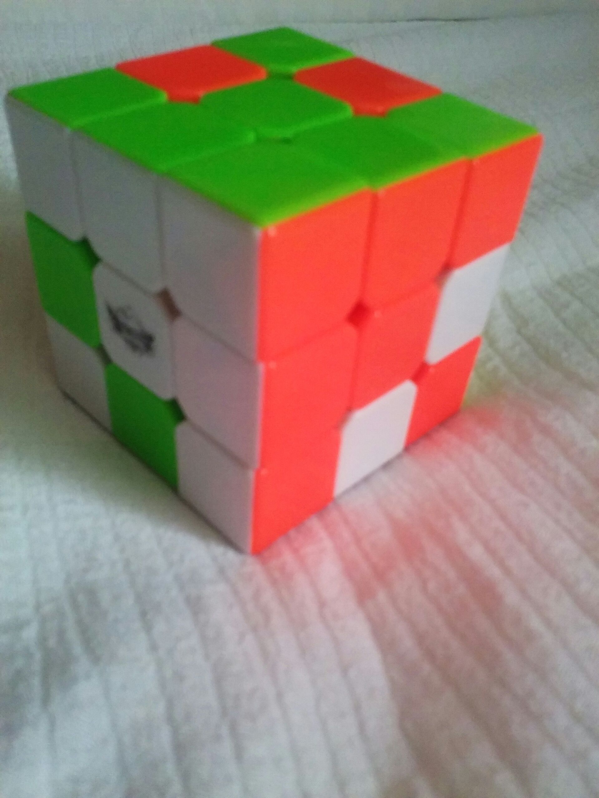 Rubiks Cube Tricks: Stairs 2