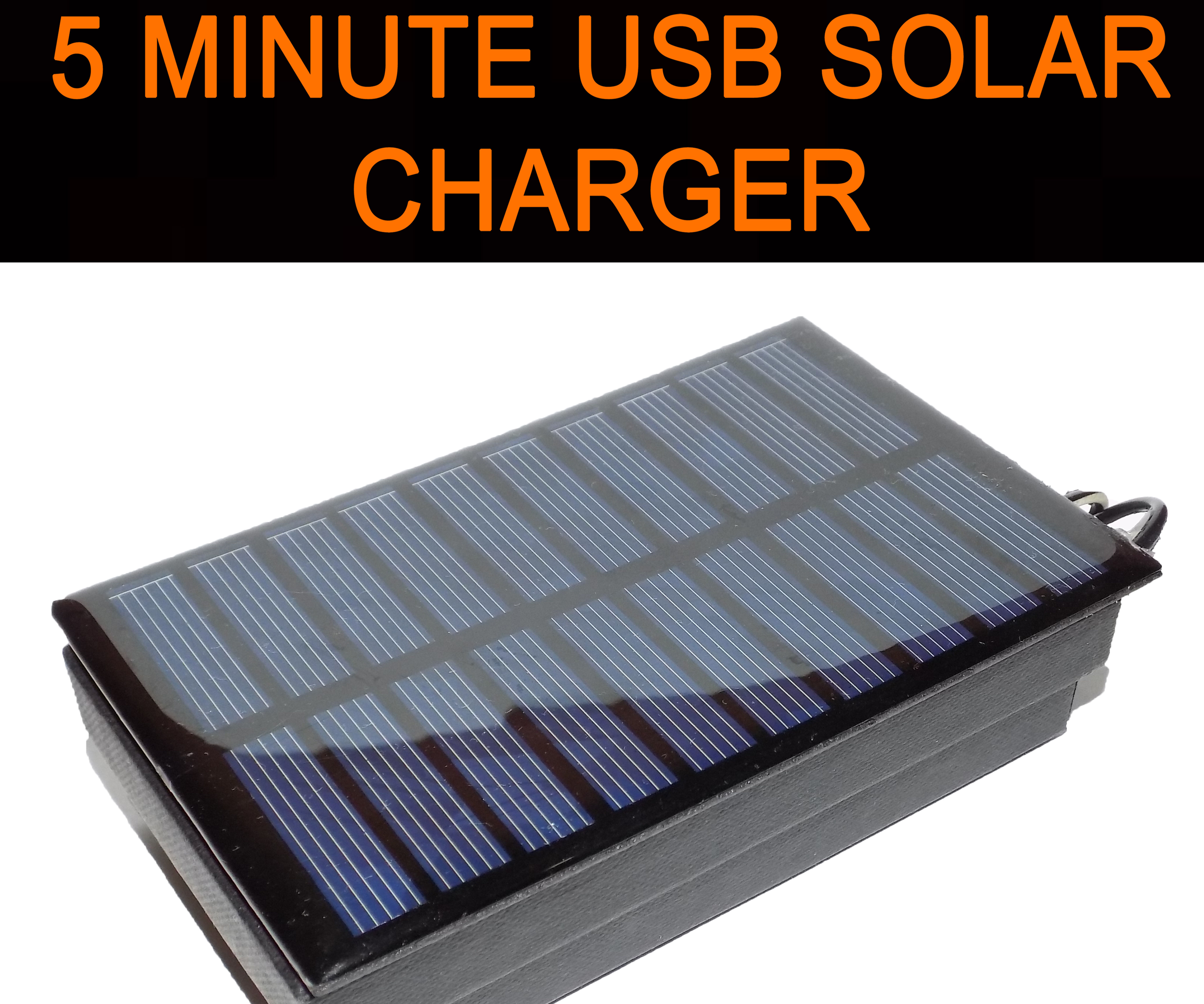 Survival Solar Energy Phone Charger