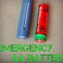 Emergency Mg/Cu Galvanic AA Battery With Tinkercad Tutorial
