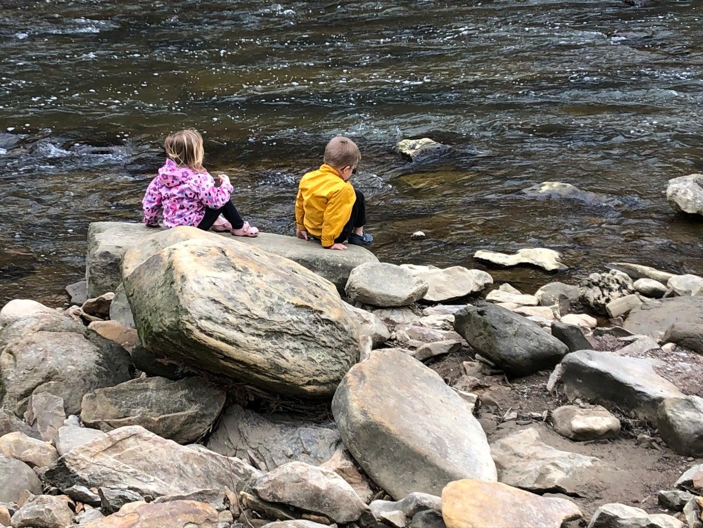 Enjoying the River