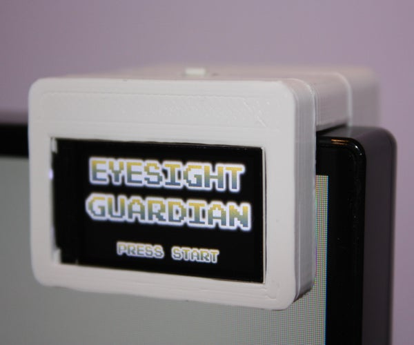Eyesight Guardian - Protect Your Eyes With Arduino
