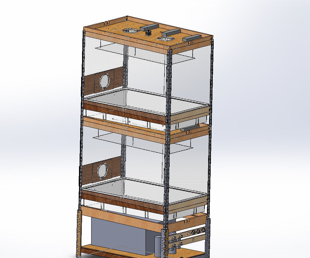 Grow Box - Automated, Stackable