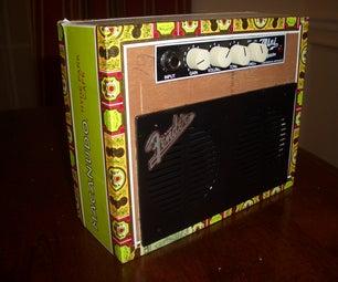Cigar Box Amplifier Case Mod