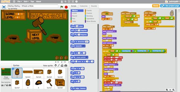 Scratch Programming Game