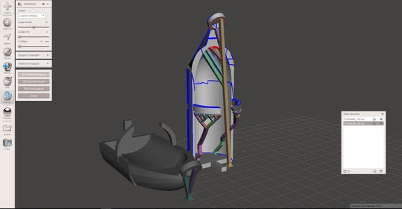 Boat Design: Part 9 - Exporting and Preparing for Printing