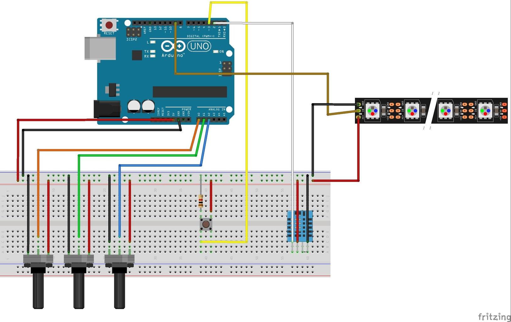 Conectando En El Protoboard