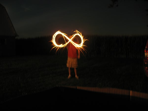 Take Awesome Open Shutter Photography With Sparklers