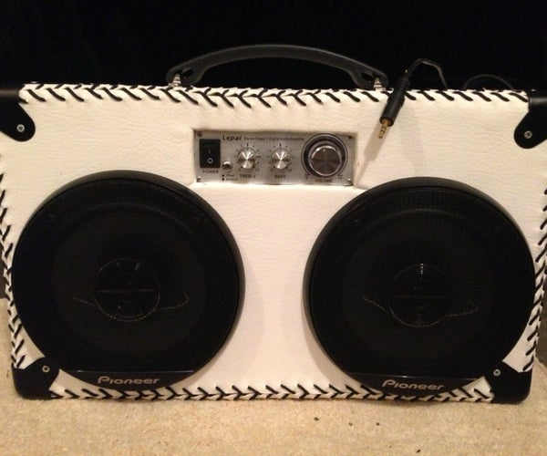 DIY Speakers/Boombox