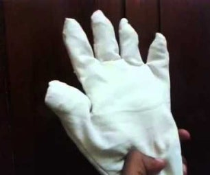 Rubber Band and Fibre Nervous Robotic Hand