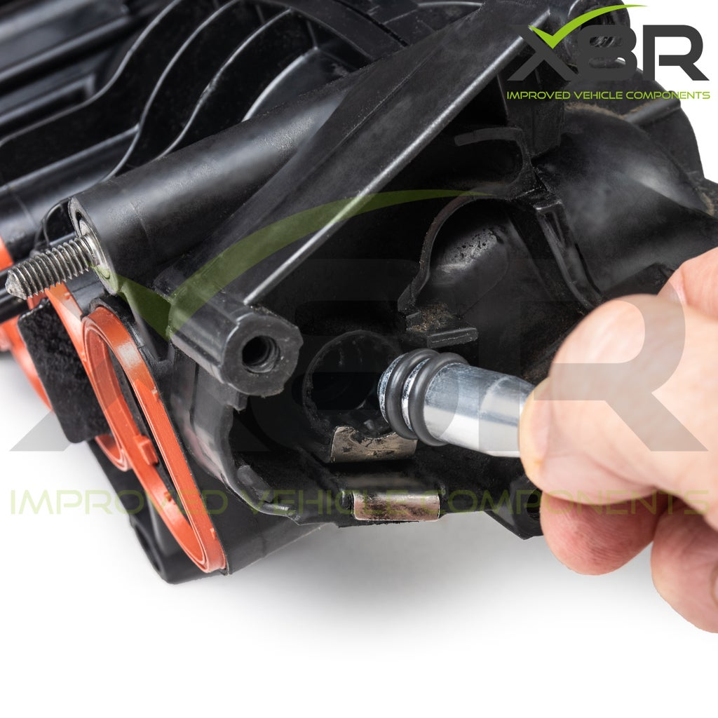 BMW N47 Intake Inlet Manifold Swirl Flap Removal Delete Metal Blank Plug Bung Repair Fix Kit Install Instruction Guide