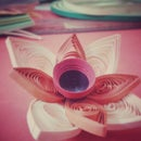 Paper Quilling Flower