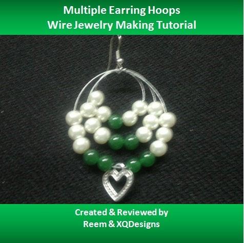 How to Create Multiple Hoop Earrings