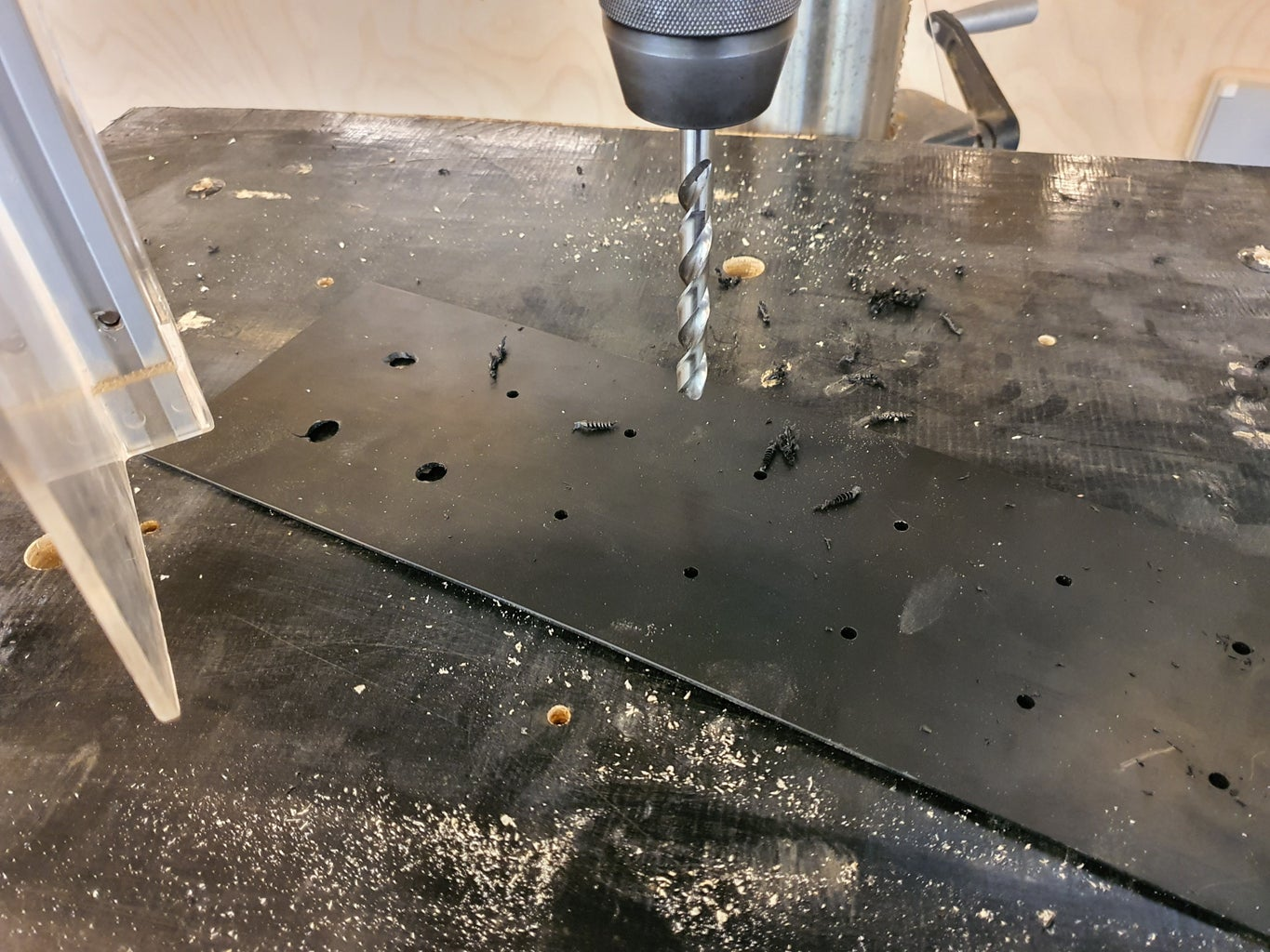 Steps D2 Drill Holes