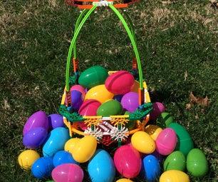 Make a K'nex Easter Egg Basket!