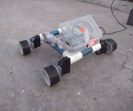 Raspberry Pi - Autonomous Mars Rover With OpenCV Object Tracking