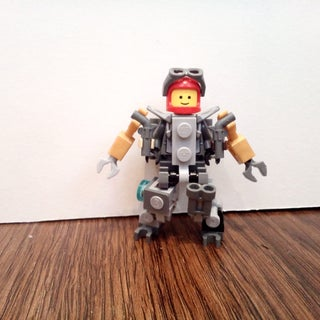 Lego Minifig Cyborg