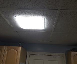 Moveable Drop Ceiling LED Light Panels