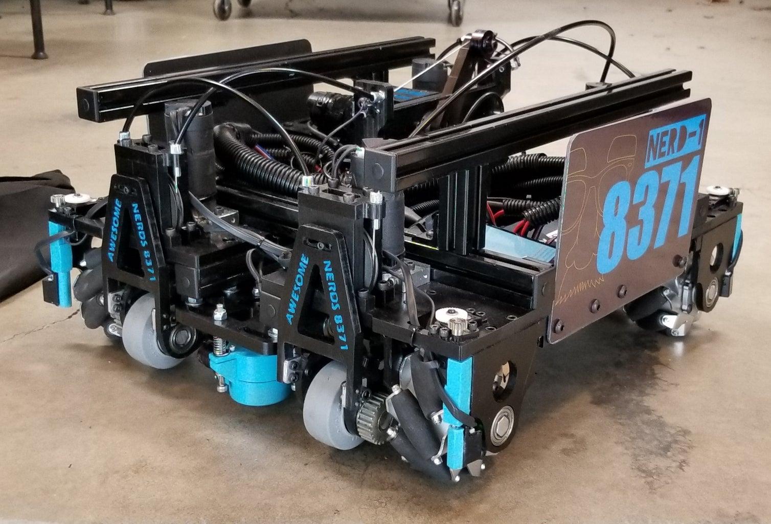 La Fabricación De Robots Del FTC Usando Métodos No Tradicionales