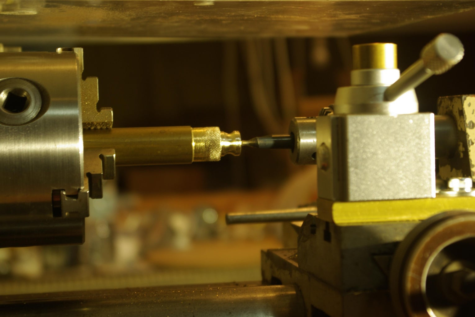 Making the Knurled Nut