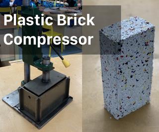 Plastic Brick Compressor