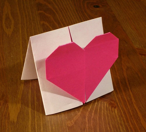 How to Make an Origami Message Heart 2!
