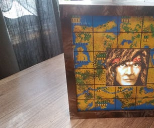Jagged Alliance Themed Digital Picture Frame