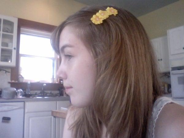 DIY Floral Hair Clip Accessories