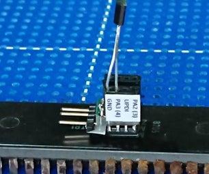 Insanely Small AVR/Arduino Microcontroller Development Board: T402 Atto