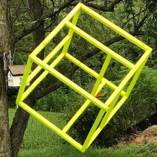 ZENCUBE: SPACE/NOT SPACE. Backyard Meditative Cube