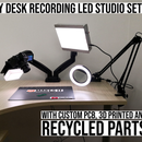 Pro Grade LED Studio Lights and Camera Mount From Scratch - 98 CRI