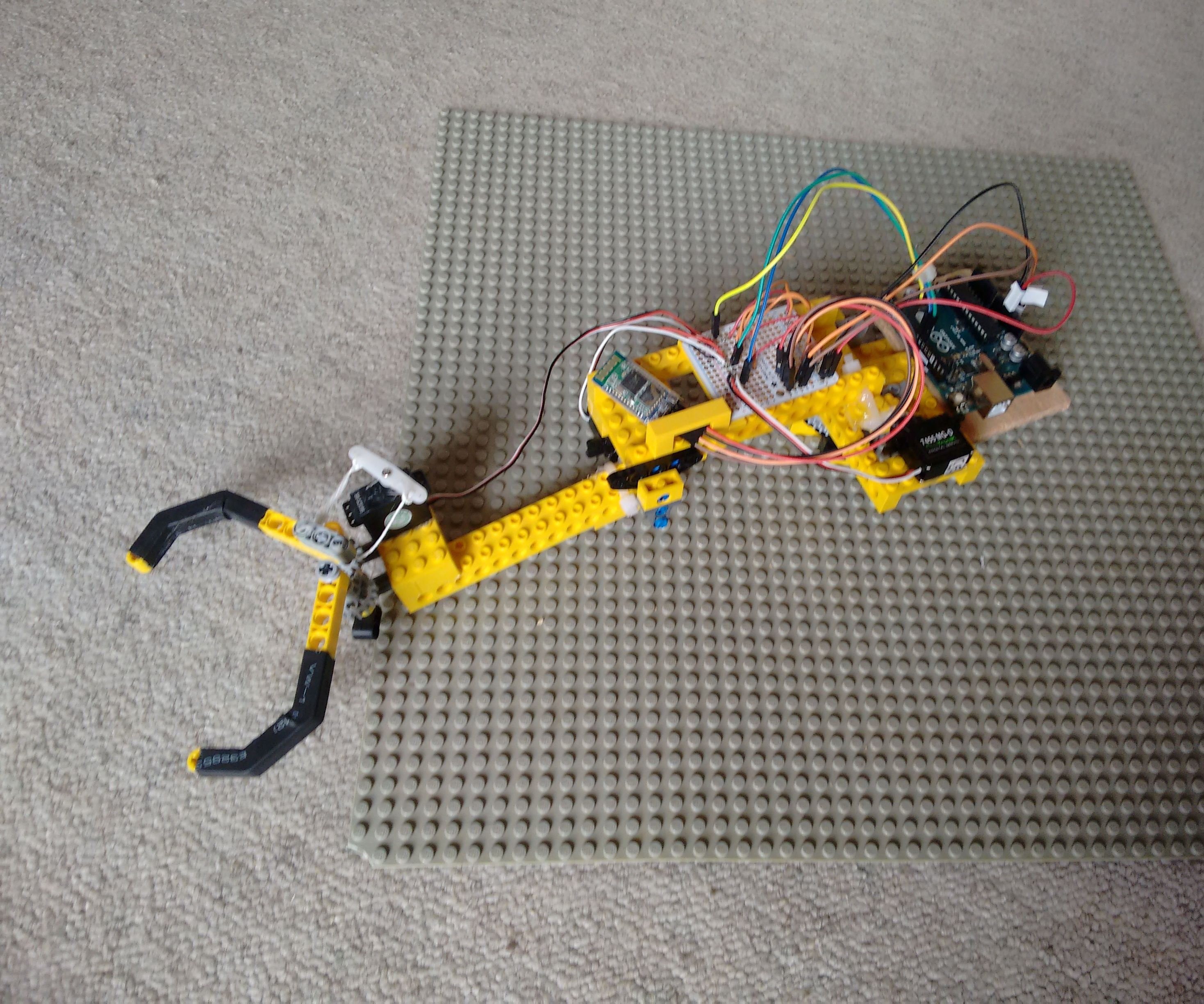 Bluetooth Robot Arm + App | Arduino & Android