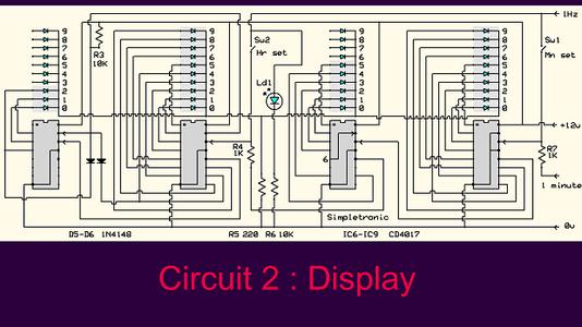 Circuit Diagram (part 2) Display