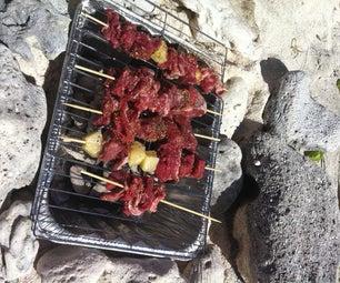 Disposable Beach BBQ Grill