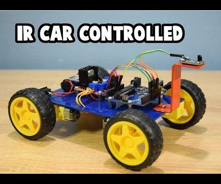 Simple CAR Arduino IR Controlled