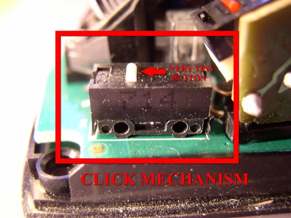 Locate the Click Mechanism That Is Causing the Problem (usually Left Click)