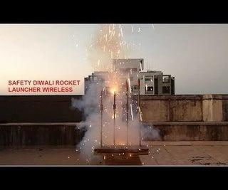 Wireless Safety Rocket Launcher