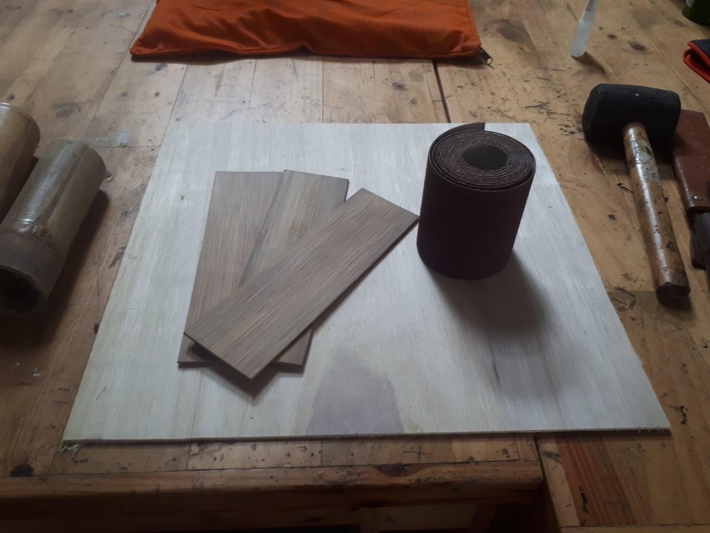 Materials Preparation : Bamboo