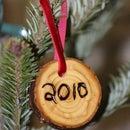 Christmas tree trunk Ornaments