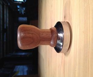 Esspresso Coffee Wooden Tamper Handle