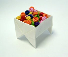 Footed Origami Box