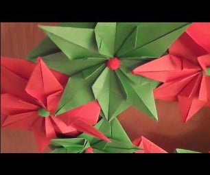 How to Make an Origami Wreath