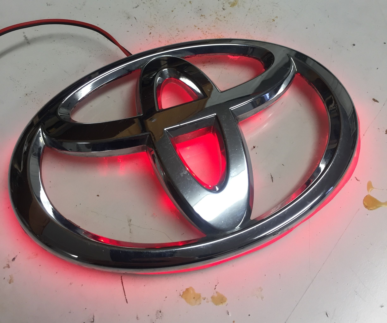 Hack Your Prius Rear Emblem (v 1)